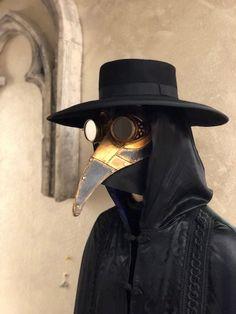 Iron Venetian Eye Mask Futuristico