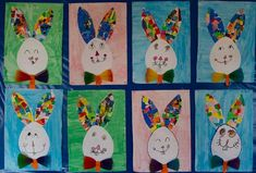Hunde A few more ideas for Easter building . - easter - # for # still bui Easter Arts And Crafts, Easter Activities For Kids, Spring Crafts For Kids, Holiday Crafts For Kids, Bunny Crafts, Art For Kids, Kindergarten Art Lessons, Kindergarten Crafts, Classroom Crafts