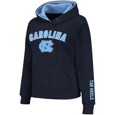 UNC Sweatshirt: http://pin.fanatics.com/COLLEGE_North_Carolina_Tar_Heels_Ladies/North_Carolina_Tar_Heels_UNC_Womens_Arch_Logo_Pullover_Hoodie_-_Navy_Blue/source/pin-unc-sweats-sale-sclmp