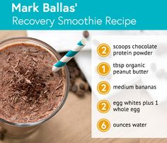 Dancing With the Stars' Mark Ballas' Recovery Smoothie Recipe #dwts