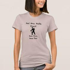 Sol Duc Falls Trail T-Shirt - fun gifts funny diy customize personal