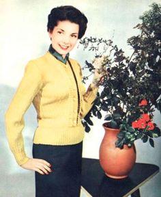 Burda Moden fashions, 1953.