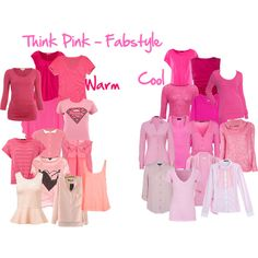 Think Pink - Fabruary Style Challenge by imogenl on Polyvore