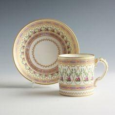 Tableware: A Sèvres Porcelain Cup & Saucer, 1775