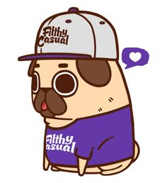 Puglie got to meet the awesome crew at Filthy Casual and model for them for a day :3Check out their apparel designs at FilthyCasual.com!