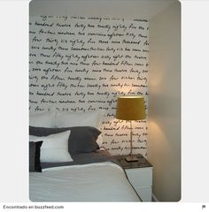 20 Easy DIY Wall Art Ideas- I'm going to do this in my new room! Of Wallpaper, Fabric Wallpaper, Bedroom Wallpaper, Temporary Wallpaper, Renters Wallpaper, Wallpaper Ideas, Colorful Wallpaper, Removable Wallpaper For Renters, Remove Wallpaper