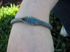 Round European Chainmaille Bracelet