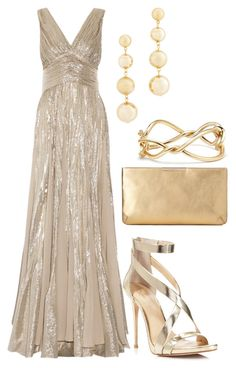 A fashion look from July 2017 featuring pink ball gown, metallic shoes and brown leather purse. Browse and shop related looks. Event Dresses, Prom Dresses, Formal Dresses, Classy Outfits, Chic Outfits, Red Carpet Dresses, Mode Inspiration, Beautiful Gowns, Pretty Dresses