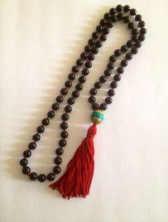 Black Onyx Fringe Tassel Necklace on Etsy, $60.00 www.theartsynomad.etsy.com ✨