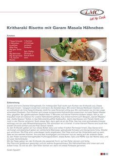 Rezept 06: Kritharaki Risotto mit Garem Masalla Hähnchen - einfach & lecker  #LMC #LMCCaravaning #LMCCamping #Reisemobil #Wohnwagen #LetMeCook #Kochen #Rezepte #Nackenkotelette #Kürbis #Apfel #Püree #tri-ergon