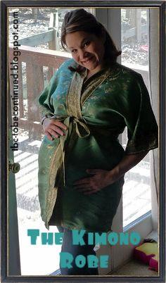 ToBeContinued: Ladies Kimono Robe- A Tutorial!