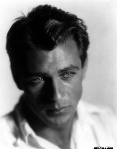 """Gary Cooper- it was his eyes. """"Not bad. Gary Cooper my date tonight! Hollywood Men, Hooray For Hollywood, Hollywood Icons, Golden Age Of Hollywood, Vintage Hollywood, Hollywood Stars, Classic Hollywood, Hollywood Glamour, Gary Cooper"""