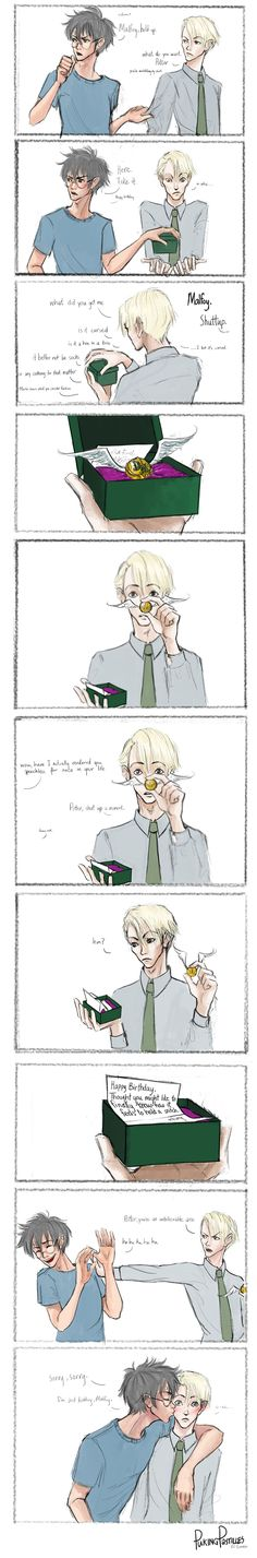 Happy Birthday, Draco - Chapter 1 - PukingPastilles - Harry Potter - J. K. Rowling [Archive of Our Own]