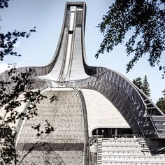 #holmenkollen #oslo #norway #skijump #summer #visitoslo #oslove (Photo: Andreas Bache-Wiig)