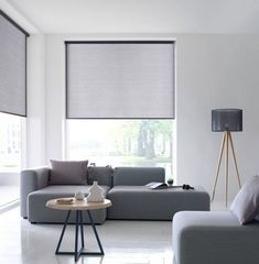 5 Creative Tips: Roller Blinds At Home outdoor blinds tips.Rolling Blinds For Windows outdoor blinds architecture. Bedroom Blinds, Window Treatments Living Room, Curtains Living Room, Living Room Blinds, House Blinds, Curtains With Blinds, Modern Windows, Living Room Windows, Blinds Design