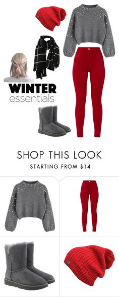 """""""Winter Outfit 2"""" by geekygirl4ever on Polyvore featuring UGG"""