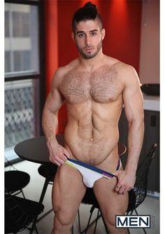 DNA Magazine - Hairy Hottie: Diego Sans |  #underwear #guys #model