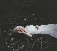 Bleak portraits by Natalia Drepina