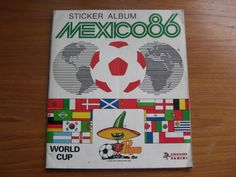 Retro Football Stickers, Mexico 86'. My brother had this- and the huge wall chart. The first World Cup I really got into.