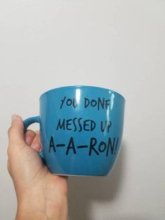 You Done Messed Up A A RonFunny Mug Substitute Teacher Key
