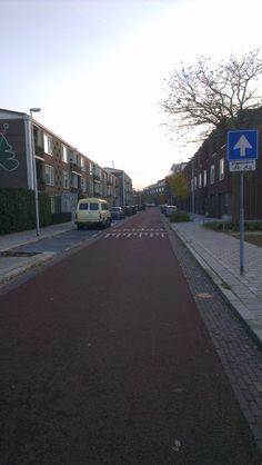 Voorbeeld fietsstraat (caressa)
