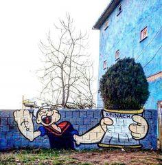 Streetart Picdump # 2 - Gadget, Technik und Art News - Street-Art. Mural - Art World 3d Street Art, Street Art Graffiti, Graffiti Kunst, Street Art London, Urban Street Art, Graffiti Murals, Amazing Street Art, Art Mural, Street Artists