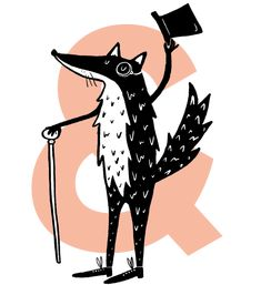 Attitude Property Branding, Creative Circle, Attitude, Moose Art, Illustration, Animals, Animales, Animaux, Animal