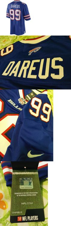 Football-NFL 206: Men S Nike On Field Marcell Dareus Buffalo Bills Jersey Large Sewn Nwt! Blue -> BUY IT NOW ONLY: $64.99 on eBay!