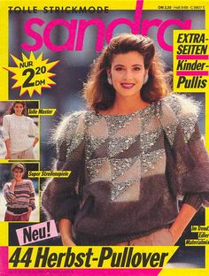 Sandro, Man Child, Knitting Books, Knitting Magazine, New Set, Trends, Nice Tops, Christmas Sweaters, Knitting Patterns