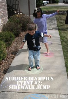 The Craft Patch: Host Your Own Backyard Summer Olympics  -  Pinned by @PediaStaff – Please Visit http://ht.ly/63sNt for all our pediatric therapy pins