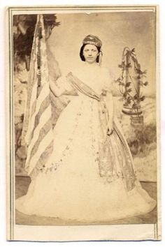 ca-1865-PATRIOTIC-LADY-COLUMBIA-LIBERTY-w-U-S-AMERICAN-FLAG-BANGOR-ME-no-9