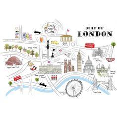Alice Tait London Map