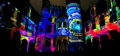 #VideoMapping    Mr.Beam - Light Festival Ghent 2011 :  For the first time in Belgium, the City of Ghent organized a Light Festival and Mr.Beam was part of it. For this special event we chose the back yard of the Ghent's conservatory, giving us a beautiful 180° canvas to work with.
