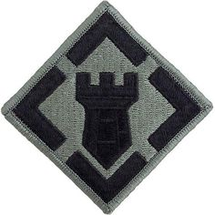 Army 20th Engineer Brigade ACU Embroidered Patch – Vanguard