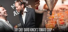 Host a cocktail party like a Michelin-starred chef.