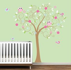Girl's Forest Wall Decor Set