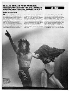 Prince People Magazine Profile 1988!