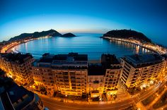 San Sebastian, Spain  came, saw, drank through the streets...   one of my fav places ever
