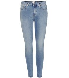 Acne Studios - Skin 5 Mid Vintage skinny jeans - Constructed from stretchy  denim, Acne 5010a32fbc0