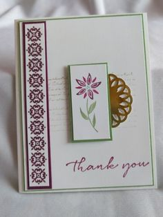 Stampin Up - Background Bits Happy Sunday Everyone, Flower Stamp, Our Love, Stampin Up Cards, Scrapbook Pages, Thank You Cards, Cardmaking, Paper Crafts, Blog