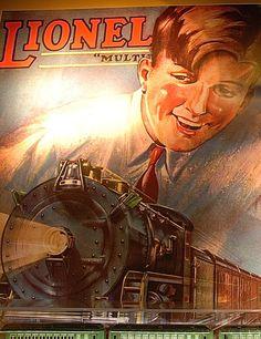 Vintage Lionel train poster. California State Railroad Museum Sacramento, California Zippertravel.com Digital Edition