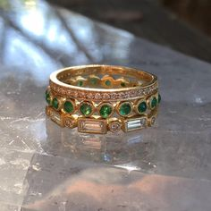 Loving this new #Emerald Dewdrop Band