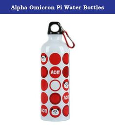 Alpha Omicron Pi Water Bottles. Alpha Omicron Pi Water Bottles for only 15.90 at GreekGear. We have tons of more products on sale from our wide selection! Shop now and SAVE BIG with GreekGear.com, boasting the largest selection of Greek apparel for all your fraternity and sorority needs.