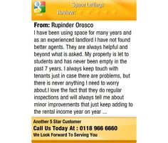 I have been using space for many years and as an experienced landlord I have not found...