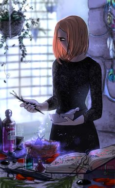 Having a teaparty on my own. Fantasy Witch, Witch Art, The Good Witch, The Worst Witch, Character Inspiration, Character Art, Character Design, Story Inspiration, Male Witch