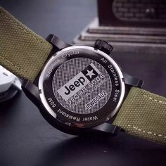 BBBY-051 Price: USD 82 Jeep Watch Outdoor sports-style domineering men's watch, stainless steel watchcase, artificial sapphire crystal, with calendar and week functions display, diameter 48mm