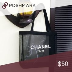 1001538d3f26 Chanel Mesh Tote by The Mix Label