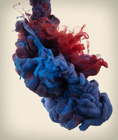 high speed photographs of ink in water by alberto seveso