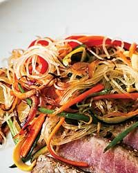 Glass Noodle Stir-Fry Recipe on Food & Wine