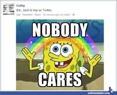 I really want to post this on a lot of people\'s status updates haha